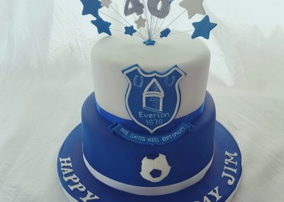Everton FC Birthday Cake York